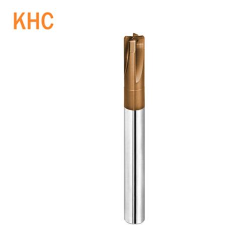 高硬度直刃型4刃钨钢圆鼻铣刀